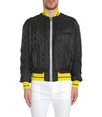 haider ackermann dill black bomber jacket