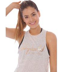 camiseta manga sisa para mujer 100642-00