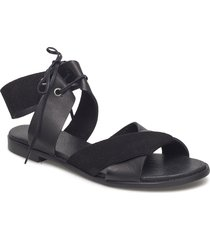 mona l shoes summer shoes flat sandals svart shoe the bear