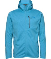 m cynlnds hdie sweat-shirts & hoodies fleeces & midlayers blauw the north face