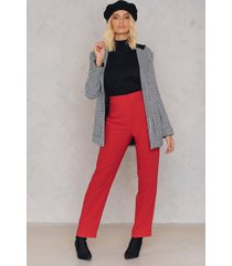 trendyol track oversize pants - red