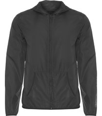 casaco masculino athletic capuz - preto