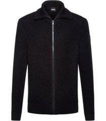 boss men's kovent regular-fit knitted jacket
