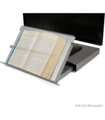 mind reader 'guide ' adjustable plastic monitor/laptop stand
