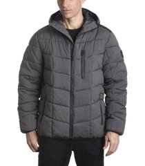 perry ellis men's puffer jacket