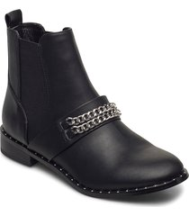 biaella chain chelsea boot shoes boots ankle boots ankle boot - flat svart bianco