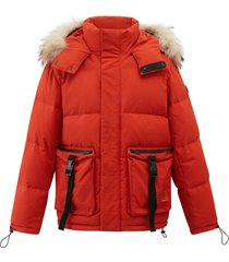 104176-835 | orange down jacket | orange - l