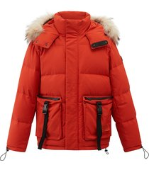 104176-835 | orange down jacket | orange - m