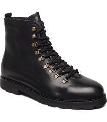 tediq hiker oxford combat boot snörade stövlar svart royal republiq