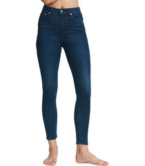 rag & bone women's nina high-rise skinny ankle jeans - viola - size 29 (6-8)