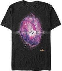 marvel men's avengers infinity war the power stone short sleeve t-shirt