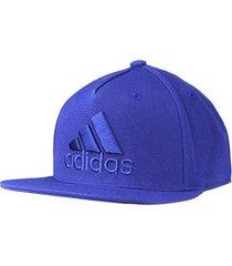 boné adidas flat cap logo
