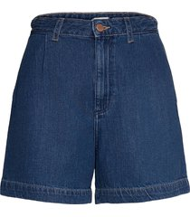 mom chino short shorts denim shorts blå wrangler