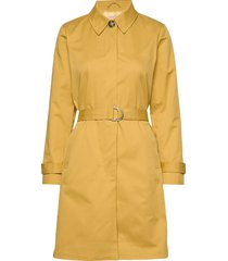 sol trench coat trenchcoat lange jas geel soft rebels