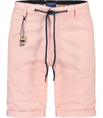 a fish named fred 22.03.222 bermuda pink peached twill -