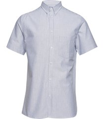 ete shirt kortärmad skjorta blå les deux