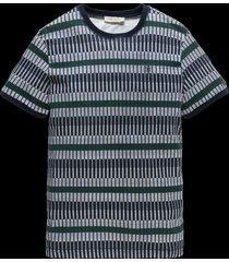 t-shirt print stripe