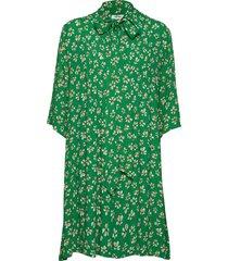 penny dress knälång klänning grön nué notes