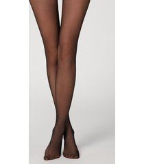 calzedonia tights with lace waist woman black size 3