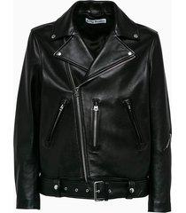 acne studio leather jacket b70075