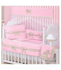 quarto completo padroeira baby elegance rosa