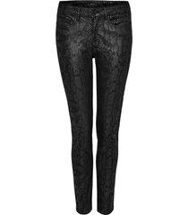opus skinny jeans emily snake