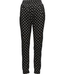 miley 448 black polka, pants casual byxor svart 2nd
