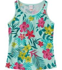 blusa regata marisol play - 11207570i - verde - menina - dafiti