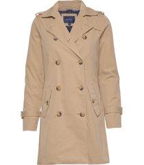 d1. trench coat trenchcoat lange jas beige gant