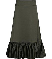 tilly skirt knälång kjol grön twist & tango