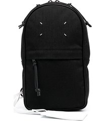maison margiela micro 1côn crossbody bag - black