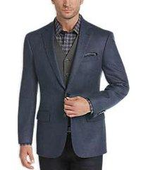 joseph abboud limited edition blue herringbone modern fit sport coat