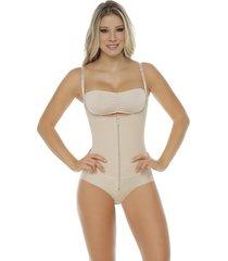fajas mujer body control panty  senos libres body line control 1015- piel