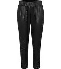 spodnie ortalionowe z wstawką