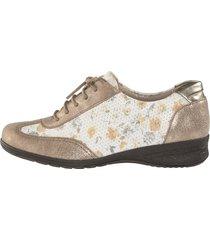 skor suave guldfärgad