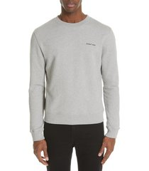 men's off-white slim fit logo sweatshirt