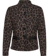 blazer jacket short 1/1 sleeve blazers bouclé blazers svart betty barclay