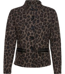 blazer jacket short 1/1 sleeve ulljacka jacka svart betty barclay
