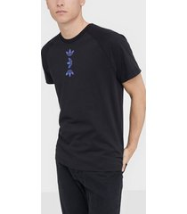 adidas originals zeno tee t-shirts & linnen svart