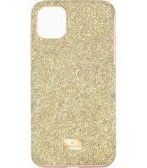 custodia per smartphone con bordi protettivi high, iphoneâ® 11 pro max, tono dorato