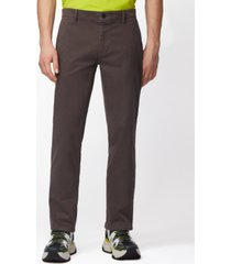 boss men's schino-regular charcoal pants
