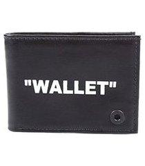 carteira couro colci silk wallet masculina