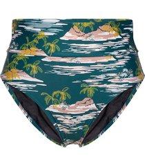 sara bikinitrosa blå scampi
