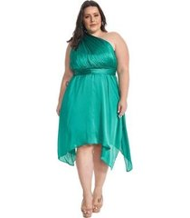 vestido lala dubi plus size infinity dress midi