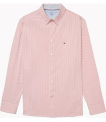tommy hilfiger adaptive men's slim-fit shirt with magnetic buttons