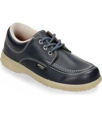 zapatillas escolares azul oscuro verlon diana gold escolar