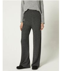 palazzo gris portsaid knitted ribbed