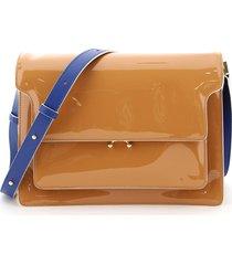 marni large trunk shoulder bag