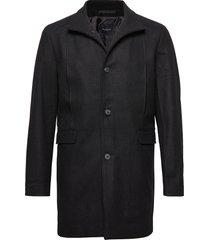 slhmosto wool coat b noos wollen jas lange jas zwart selected homme