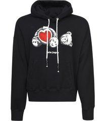 palm angels bear in love hoodie